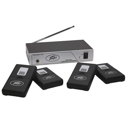 Peavey 4-User Single-Channel Wireless Assisted 03010620