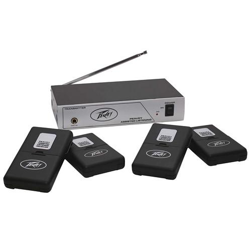 Peavey 4-User Single-Channel Wireless Assisted 03010650