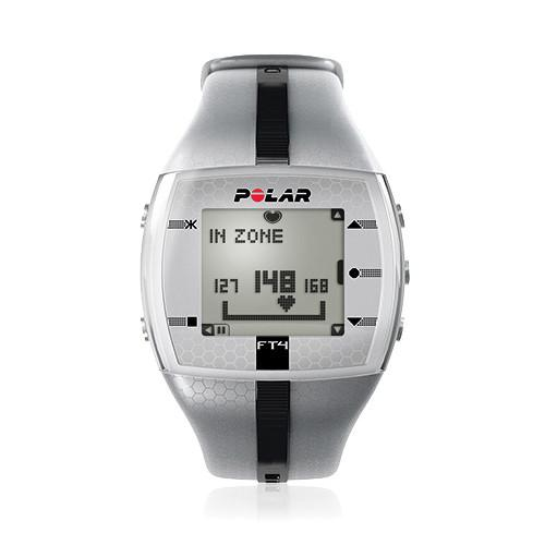 Polar FT4 Training Computer Watch (Silver/Black) 90051039