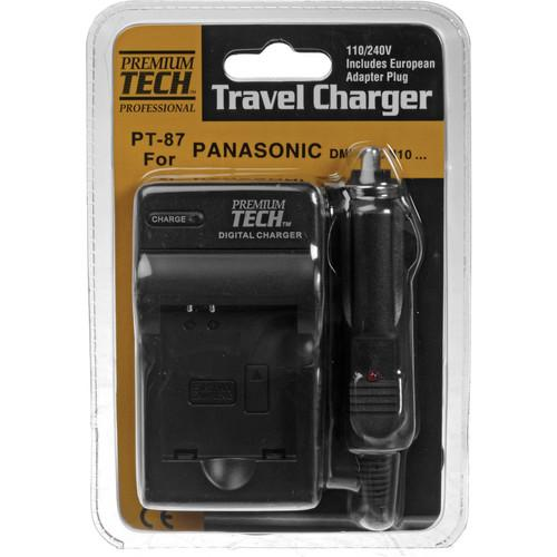 Power2000 PT-87 Battery Charger for DMW-BCN10 Battery PT-87