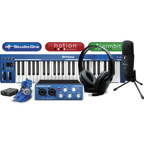 PreSonus Music Creation Suite: USB Stereo MUSIC CREATION SUITE