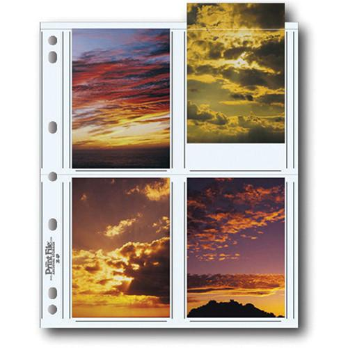 Print File 35-8P Archival Storage Page for 8 Prints 060-0611