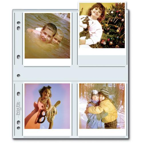Print File 44-8P Archival Storage Page for 8 Prints 060-0691