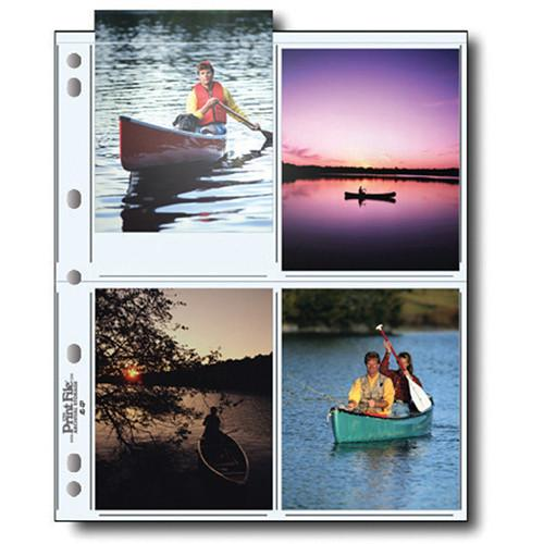 Print File 45-8P Archival Storage Page for 8 Prints 060-0622