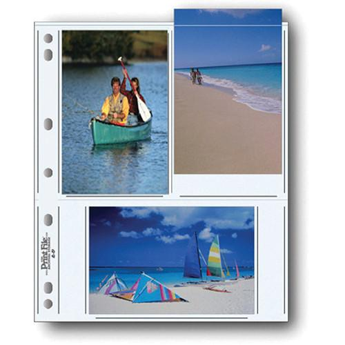 Print File 46-6P Archival Storage Page for 6 Prints 060-0631