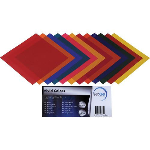 Pro Gel Vivid Colors Filter Pack 12 x 12