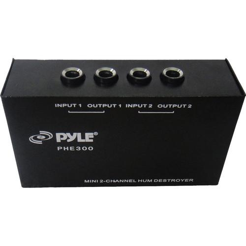 Pyle Pro PHE300 Mini 2-Channel Hum Destroyer PHE300
