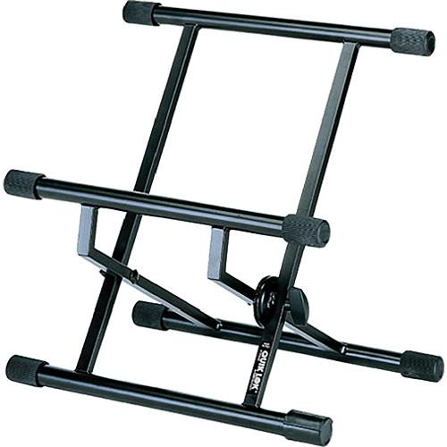 QuikLok BS317 Double-Brace Low Profile Amp Stand BS317BK
