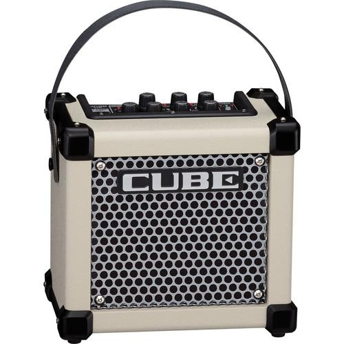 Roland Micro Cube GX Guitar Amplifier (White) M-CUBE-GXW