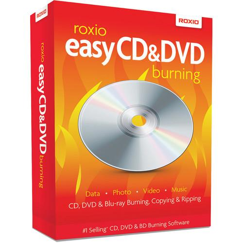 Roxio Roxio Easy CD and DVD Burning for Windows ROXCDDVDBURN