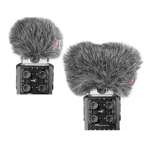 Rycote Mini Windjammer Combo Set for Zoom H6 Mid-Side and 055454