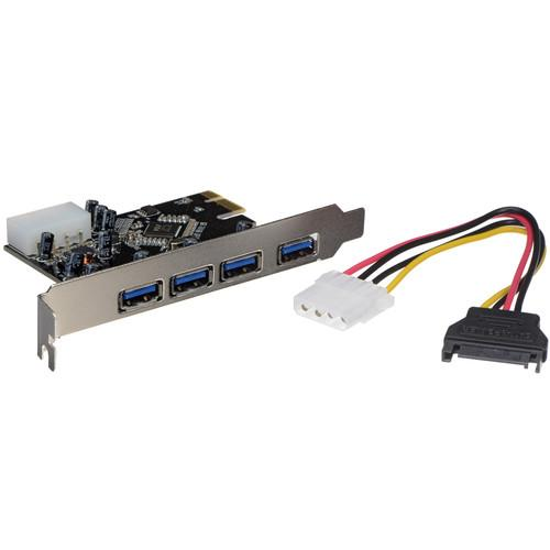 Sabrent  4-Port USB 3.0 PCIe 1.0a Card CP-4PTU