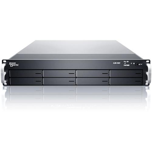 Sans Digital EliteSTOR ES208X6 B 2U 8-Bay 6G KT-ES208X6 B