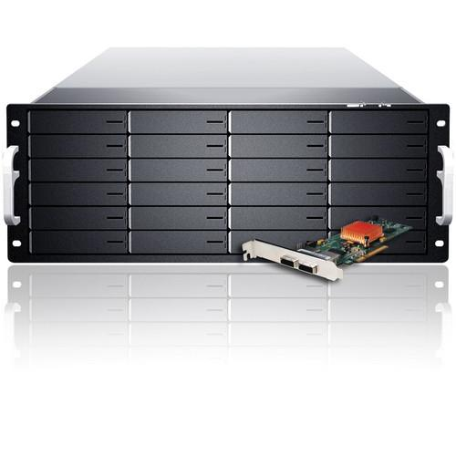 Sans Digital EliteSTOR ES424X6 BSHG 4U 24-Bay 6G KT-ES424X6 BSHG