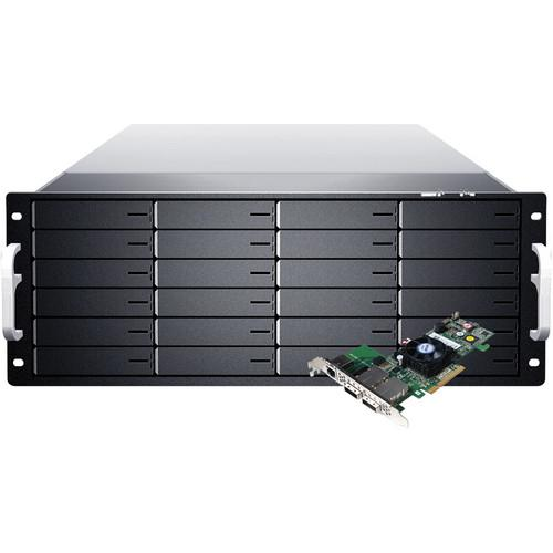 Sans Digital EliteSTOR ES424X6 BSHP 4U 24-Bay 6G KT-ES424X6 BSHP