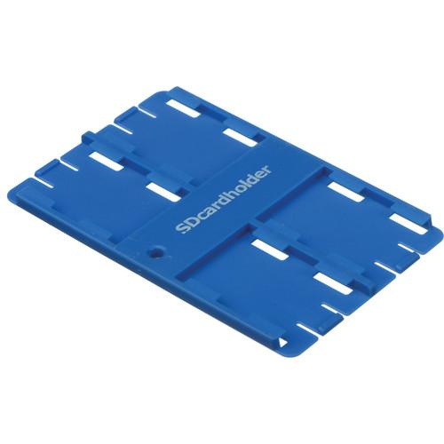 SD Card Holder Standard SD Memory Card 4 Slot Holder 0723102B
