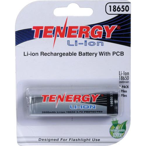 SeaLife Tenergy 18650 Rechargeable Lithium-Ion Battery SL9816
