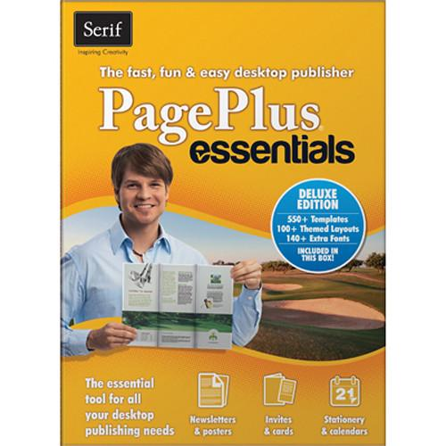 Serif PagePlus Essentials Deluxe Desktop Publishing PPEDUSESD