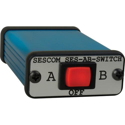 Sescom 3.5mm Stereo Audio A/B Switch for Mobile SES-AB-SWITCH