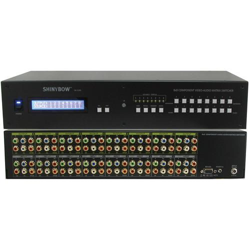 Shinybow 8x8 Component Video HDTV Matrix Routing SB-5588LCM