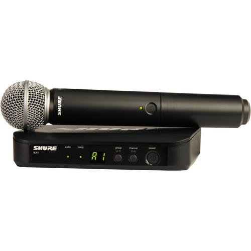 Shure BLX24 Vocal Wireless System With SM58 Mic BLX24/SM58-H8