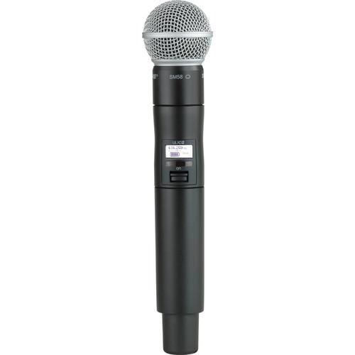 Shure ULXD2 Handheld Transmitter with SM58 ULXD2/SM58-H50
