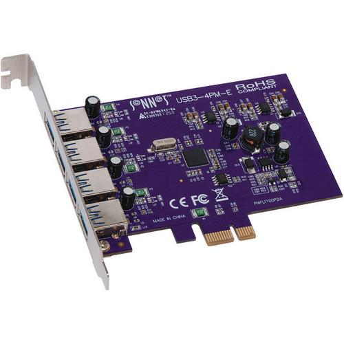 Sonnet USB3-4PM-E Allegro 4-Port USB 3.0 PCI Express USB3-4PM-E