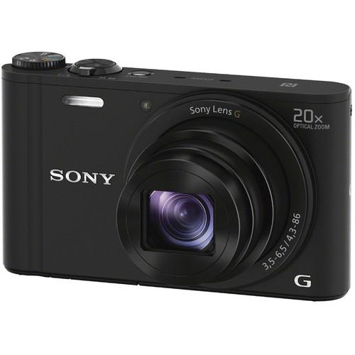 Sony Cyber-shot DSC-WX350 Digital Camera (Black) DSCWX350/B