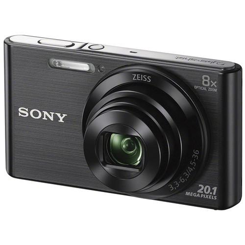 Sony  DSC-W830 Digital Camera Basic Kit (Black)