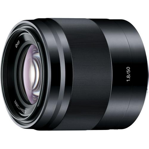 Sony  E 50mm f/1.8 OSS Lens (Black) SEL50F18/B