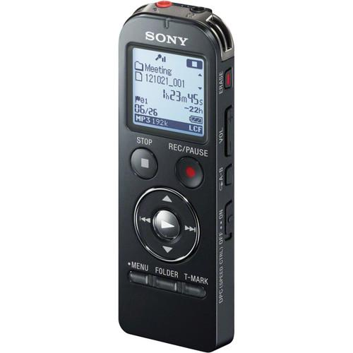Sony ICD-UX533 Digital Flash Voice Recorder (Black) ICDUX533BLK