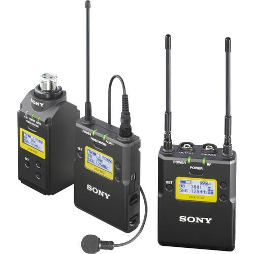 Sony UWP-D Integrated Digital Dual Combo Wireless ENG Basic Kit