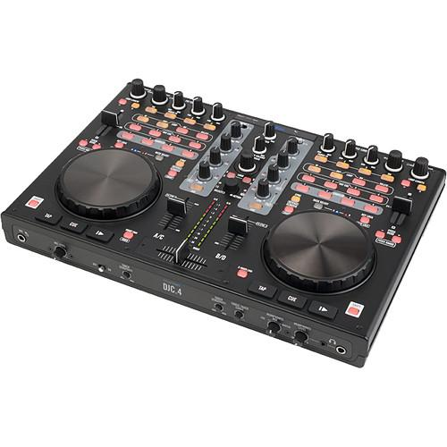 Stanton DJC.4 - Digital DJ Controller with Built-In Audio DJC.4