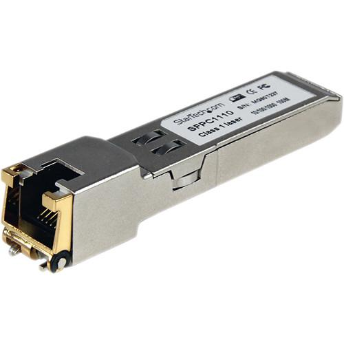 StarTech Cisco Compatible Gigabit RJ-45 Mini-GBIC SFPC1110