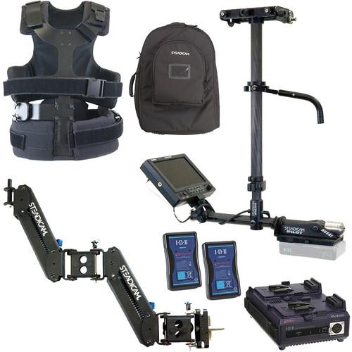 Steadicam Pilot-VLB, IDX Power System, Merlin 2, Camera