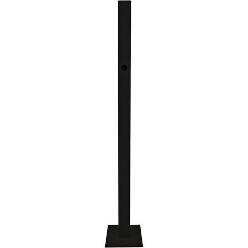 SunBriteTV Deck/Planter Pole (Black) SB-DP2332X-BL