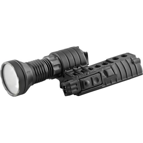 SureFire M500LT LED WeaponLight (White/Red) M500LT-B-BK-RD
