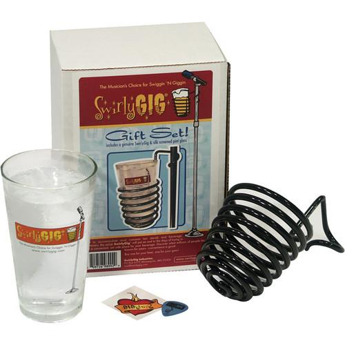 SwirlyGig SwirlyGig Drink Holder Gift Set (Black) 123398