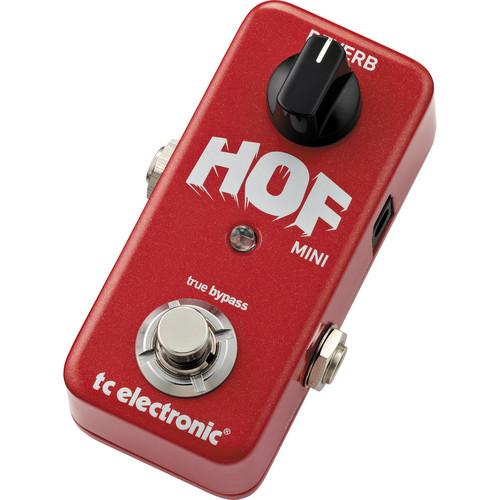 TC Electronic Hall of Fame Mini Reverb Pedal 960803001