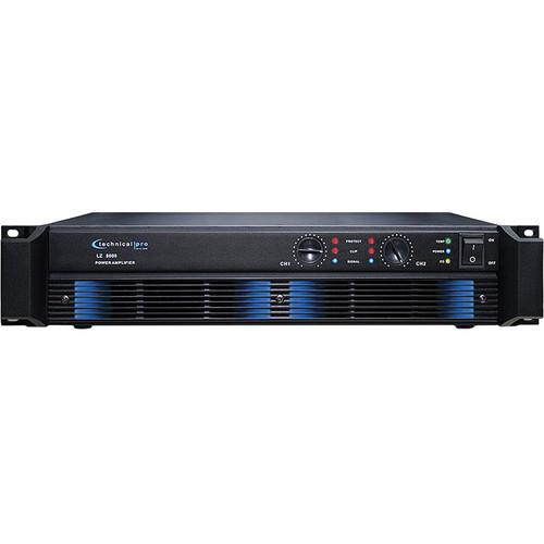 Technical Pro LZ8000 2-Channel Power Amplifier LZ8000
