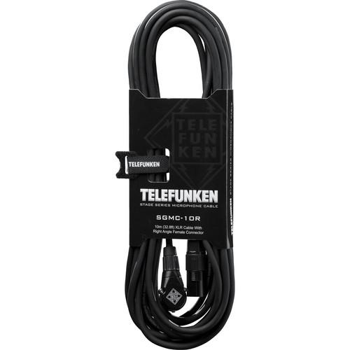 Telefunken SGMC-10R Stage Series Microphone Cable SGMC10R