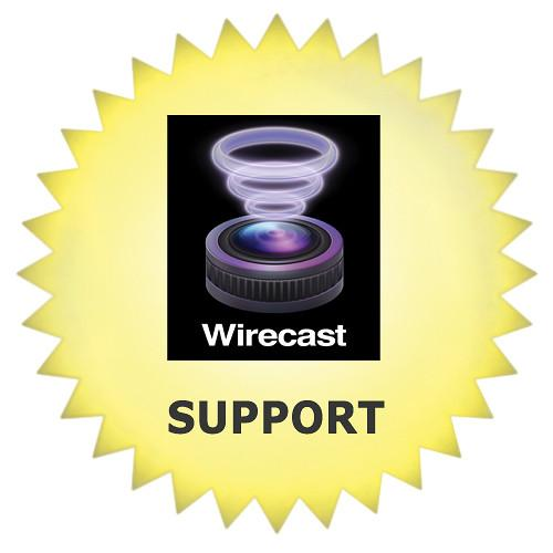 Telestream Premium Support for Wirecast Pro WC-PRO-MS01