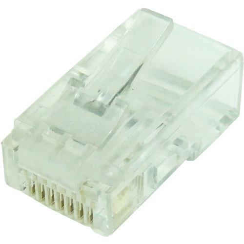 Tera Grand CAT5 50u Solid Wire Modular Plug CON-C5RJ45-1-100