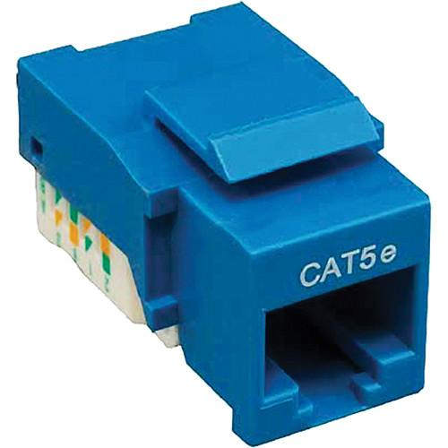 Tera Grand CAT5e Tool-Less Keystone Jack (Blue) KEYJ-CAT5ETL-BL