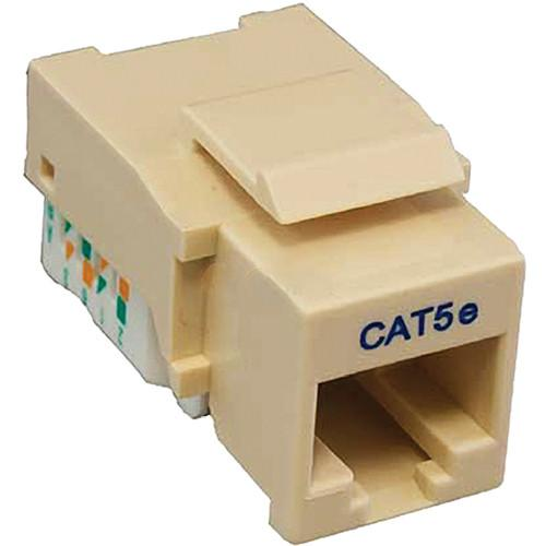 Tera Grand CAT5e Tool-Less Keystone Jack (Ivory) KEYJ-CAT5ETL-IV