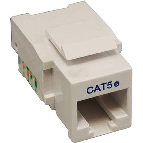 Tera Grand CAT5e Tool-Less Keystone Jack (White) KEYJ-CAT5ETL-WH