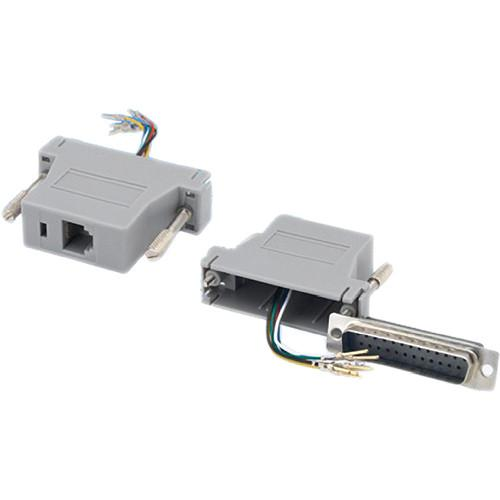 Tera Grand DB 25-Pin Male to RJ-12 Female ADP-DB25M-RJ12F