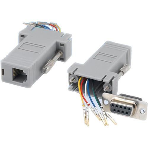 Tera Grand DB 9-Pin Female to RJ-12 Female ADP-DB9F-RJ12F