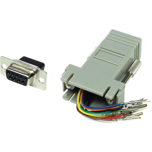 Tera Grand DB 9-Pin Female to RJ-45 Female ADP-DB9F-RJ45F