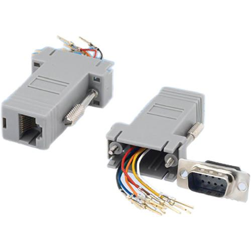 Tera Grand DB 9-Pin Male to RJ-45 Female Modular ADP-DB9M-RJ45F